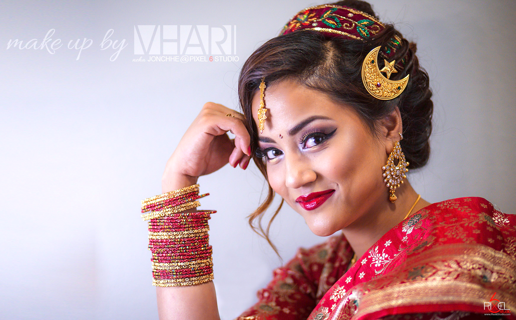 Bridal Session with Makeup by Vhari