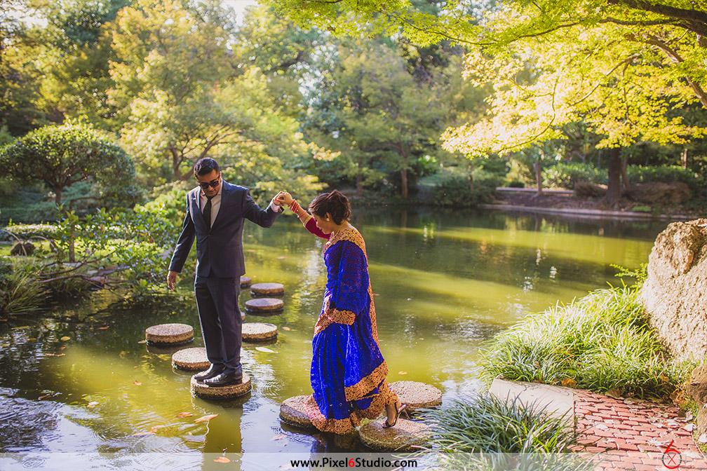 Venue: Japanese Garden, Forthworth, Texas | Photographer: Manjil Shrestha  [Pixel 6 Studio]