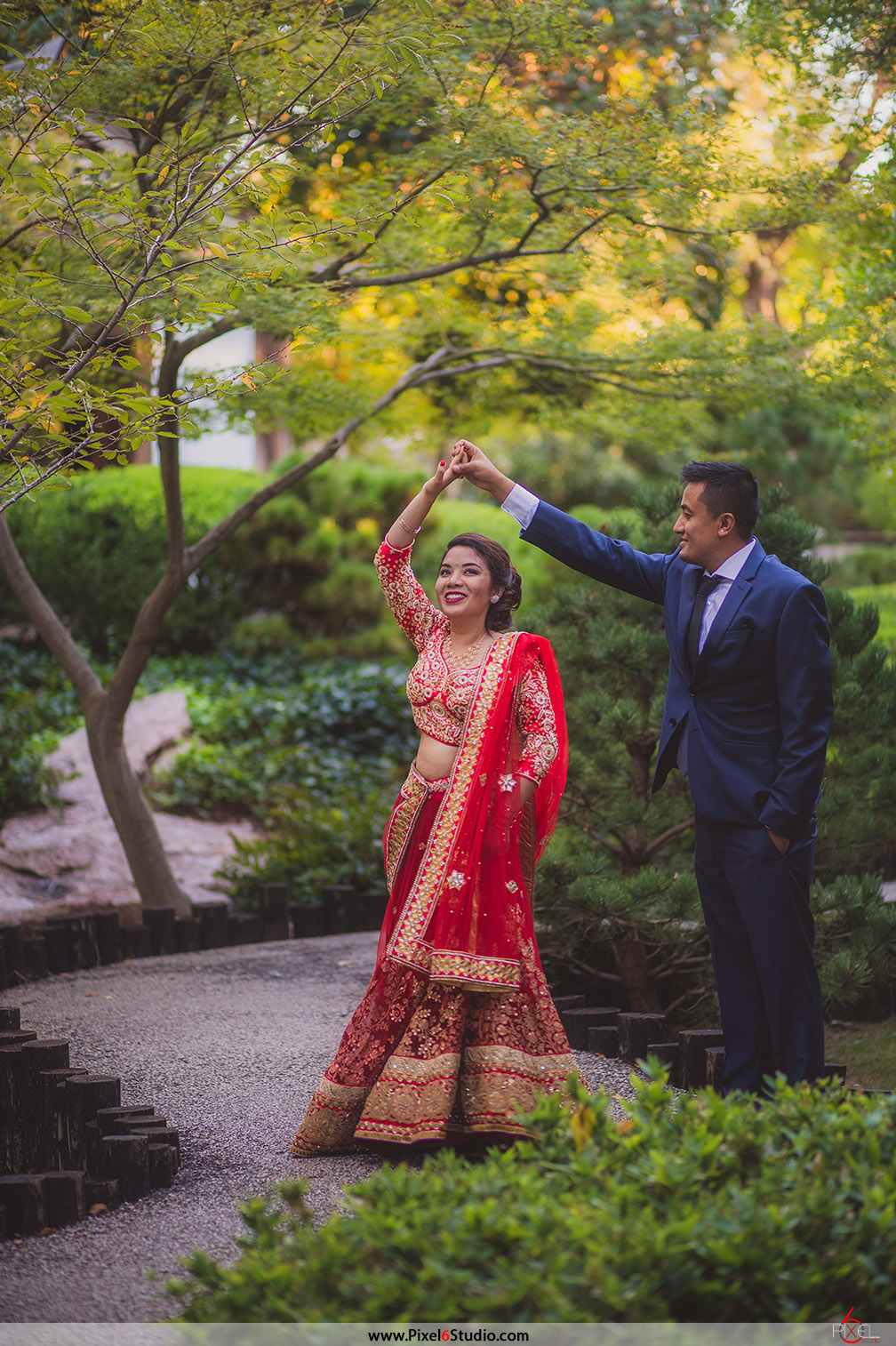 Venue: Japanese Garden, Forthworth, Texas | Photographer: Manjil Shrestha  [Pixel 6 Studio]