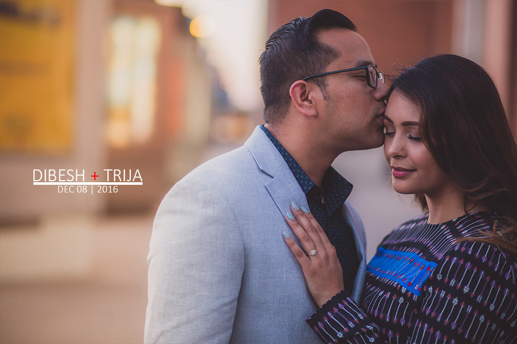 Big Dallas Engagement Session: Dibesh + Trija | North Carolina Wedding Photographer