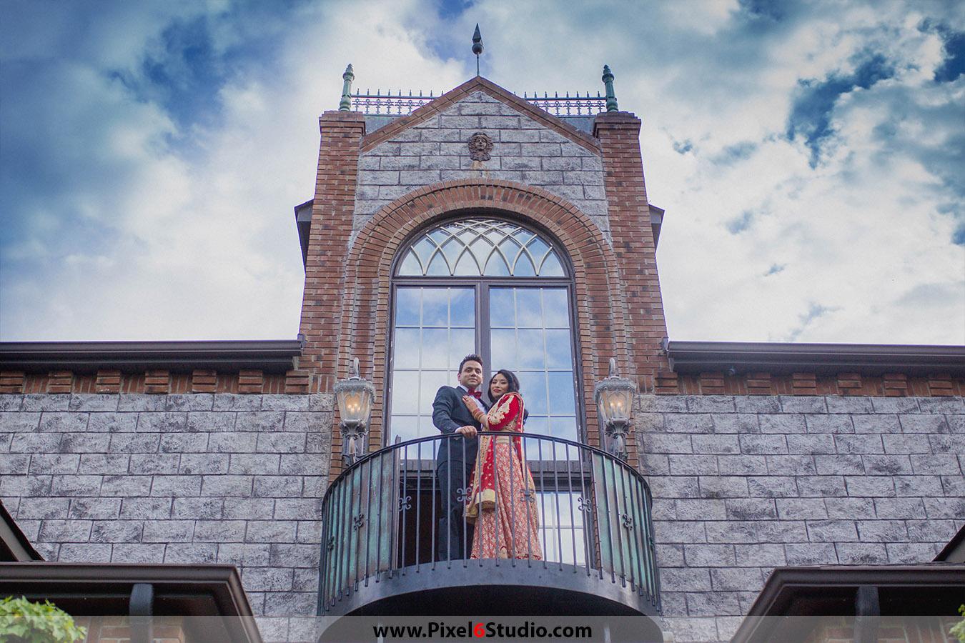 Jemee & Amit: North Carolina Wedding @ Barclay Villa