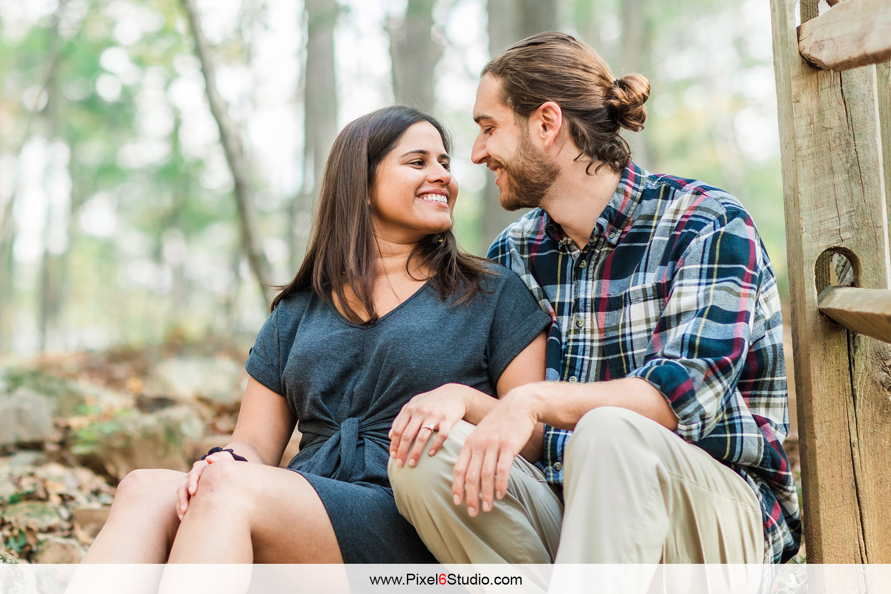 Parin & Josh | Eno River State Park Engagement Session| Durham | North Carolina