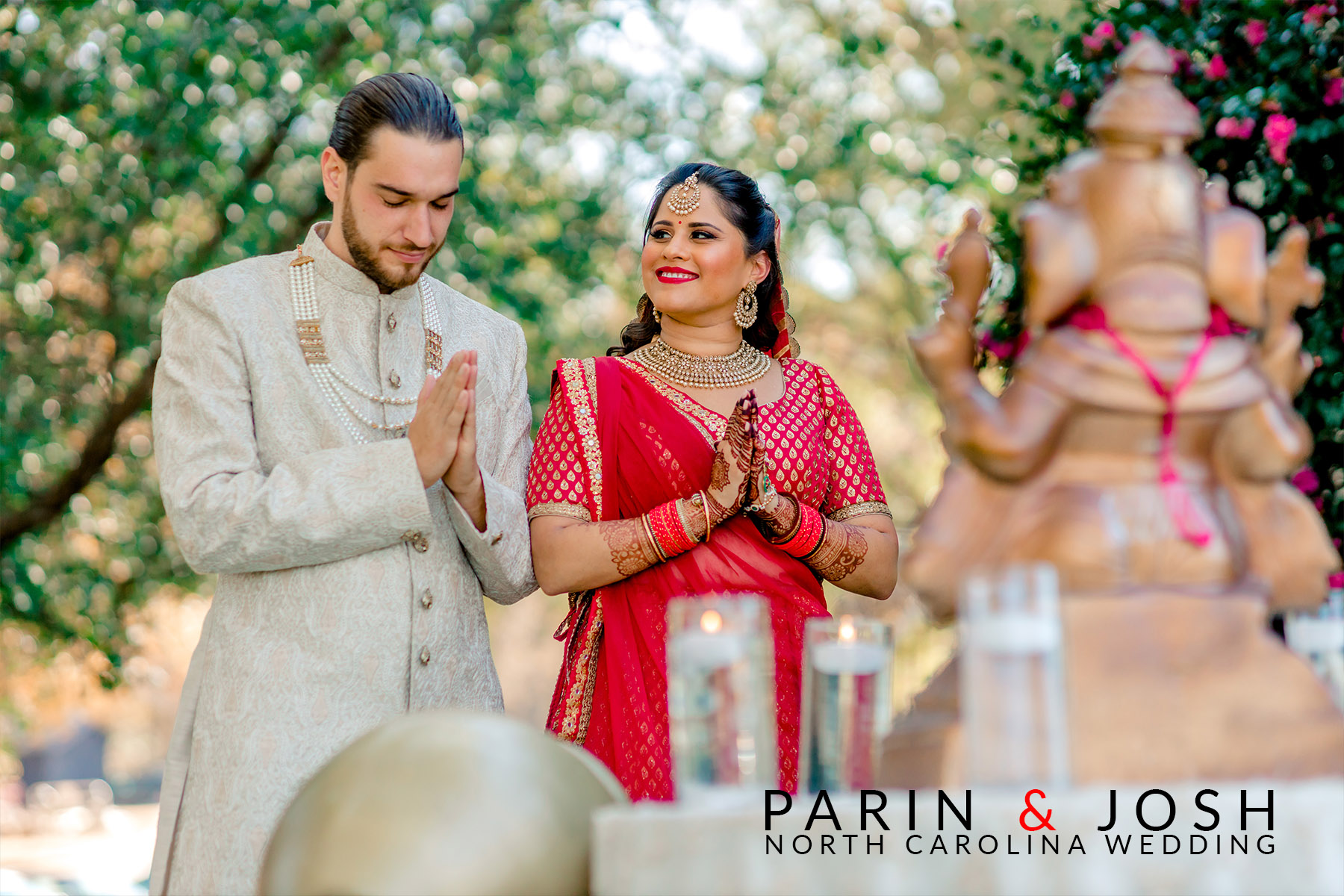 Parin & Josh | Raleigh, North Carolina Indian Wedding |